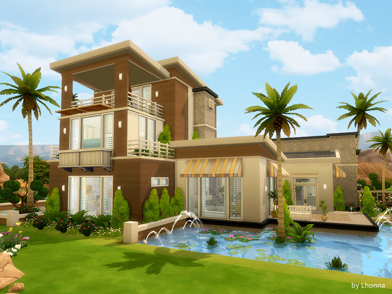 Summer Dream House Sims 4 Houses