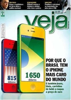 Revista Veja Porque o Brasil tem o Iphone mais caro do Mundo