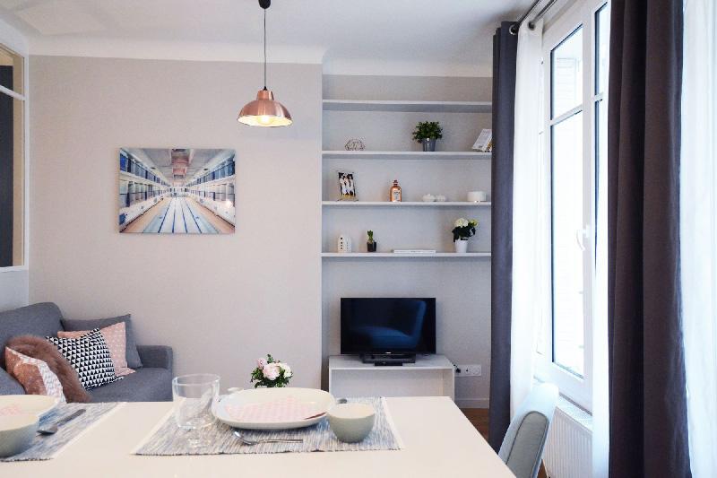 la trasformazione di un ordinario appartamento di 30 mq a parigi ... - Soggiorno E Cucina In 30 Mq