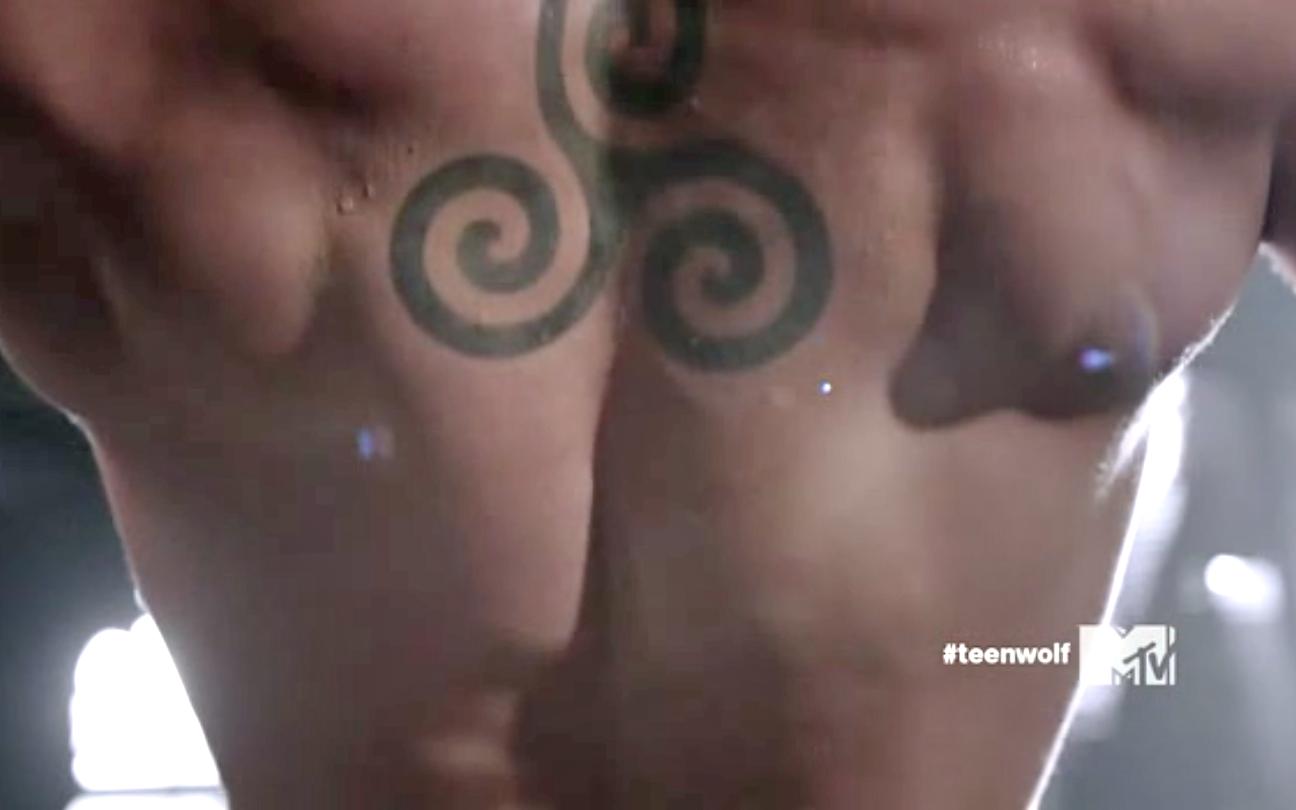 Teen Wolf Derek Tattoo