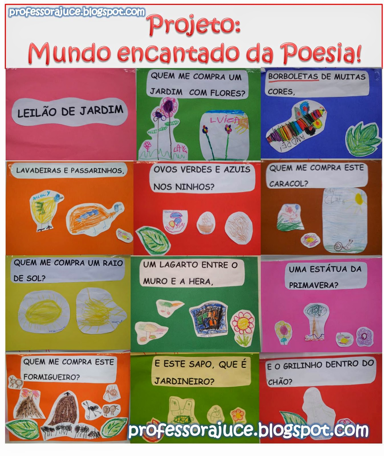 rosas no jardim poema : rosas no jardim poema:Aprender Brincando: Projeto Poesia para Educação Infantil