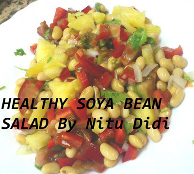 soya bean salad