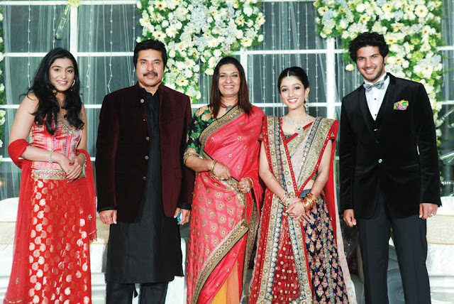 Mammootty Son Wedding