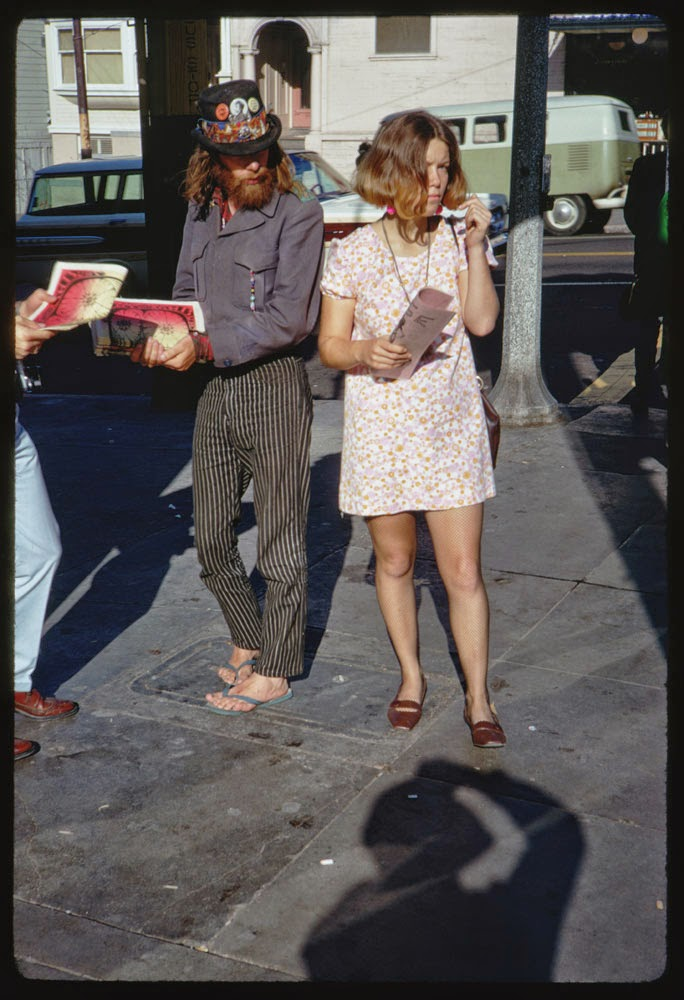 Haight street hippies san francisco in 1967