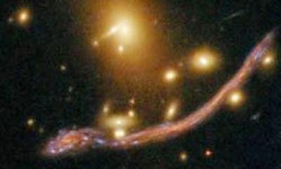 naga terekan teleskop hubble