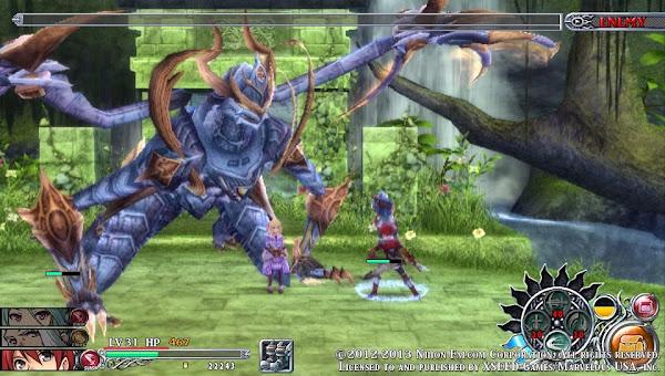 Ys: Memories Of Celceta - Boss Fight