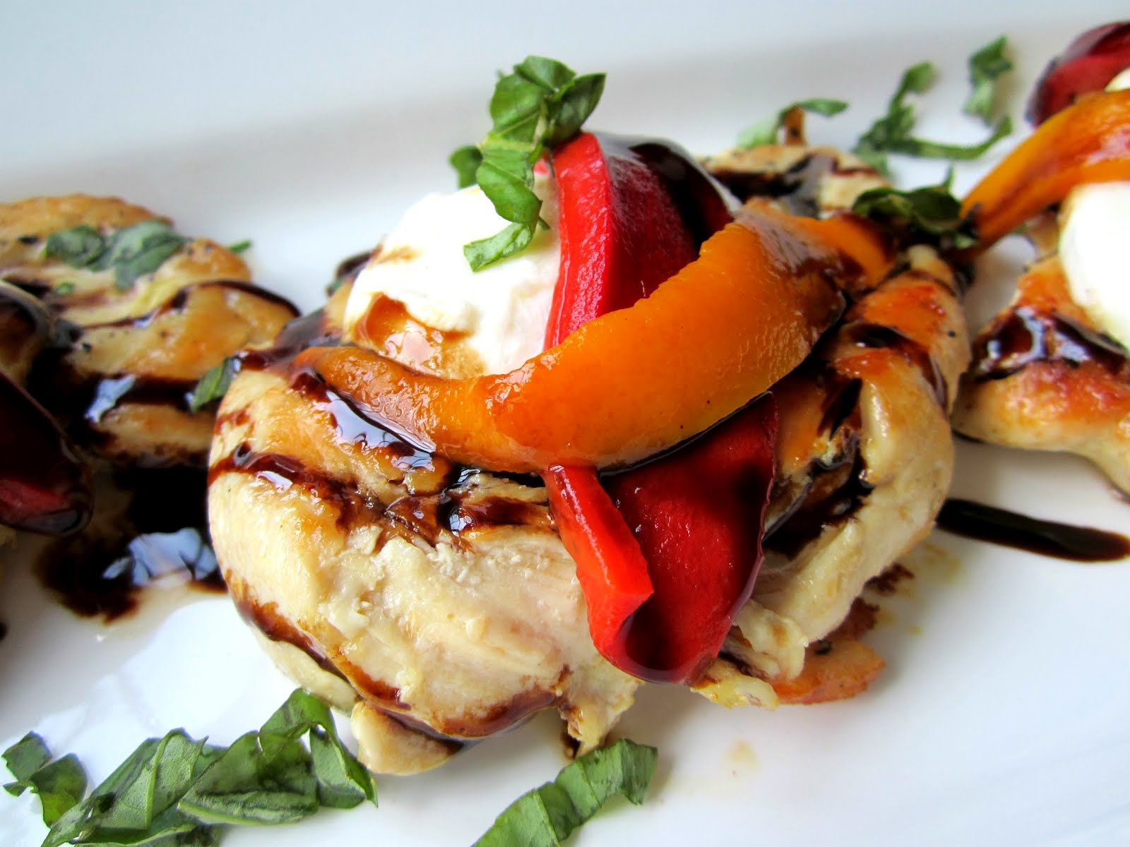 Caprese Chicken on the Fly