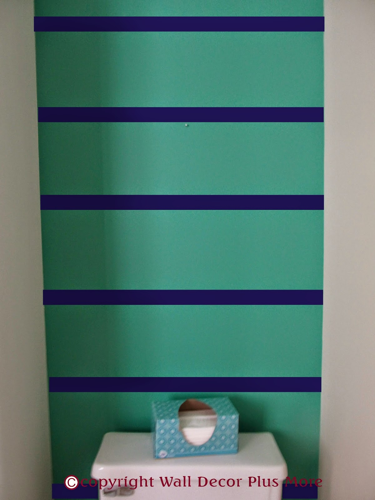Wall Decor With Stripes : Decorating with wall vinyl how to apply sticker stripes