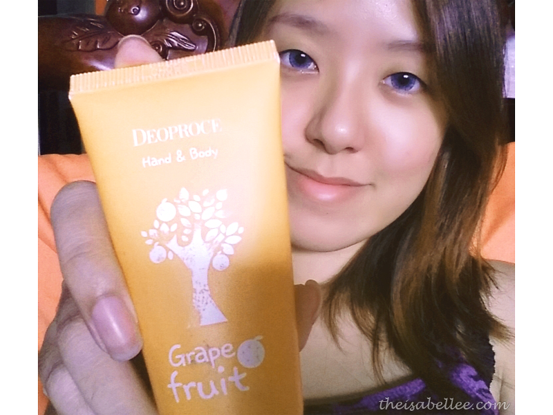 Deoproce Hand & Body Cream Grape Fruit