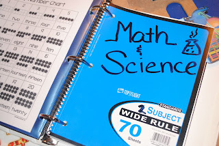 Math and Science Notebook