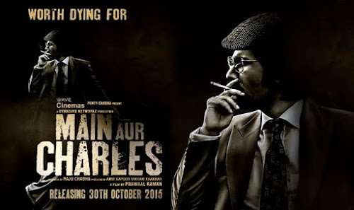 Poster Of Bollywood Movie Main Aur charles (2015) 100MB Compressed Small Size Mobile Movie Free Download