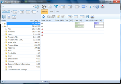 資料夾大小統計工具,整理電腦檔案必備,GetFoldersize V3.0.6 綠色免安裝版!