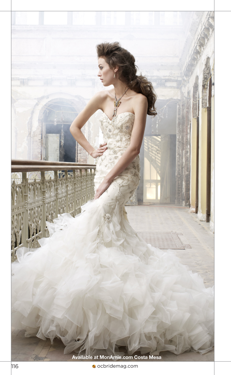 orange county bride magazine wedding dresses by mon amie