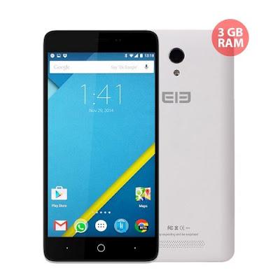 Elephone P6000 Pro, con dos versiones, 2gb u 3gb