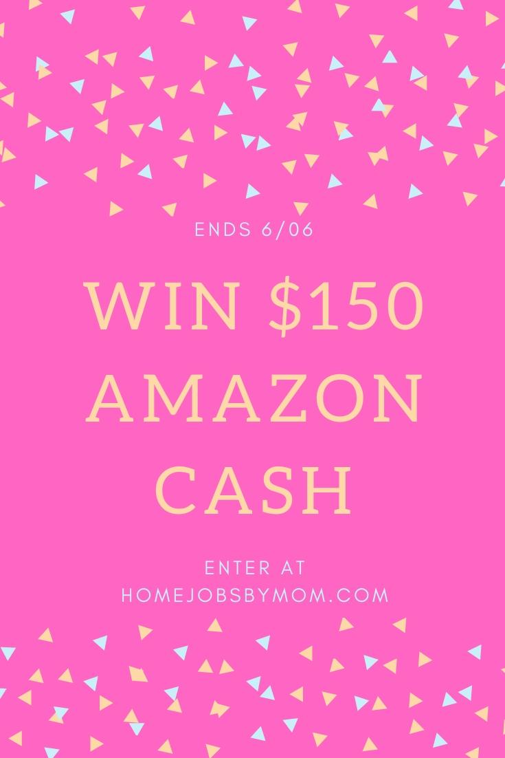 Amazon Cash $150 Giveaway