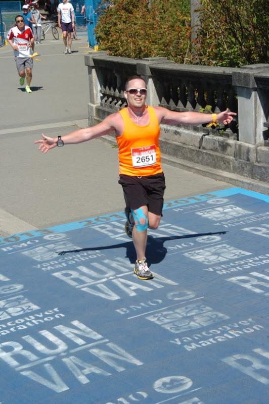 Vancouver Marathon 2013 runner