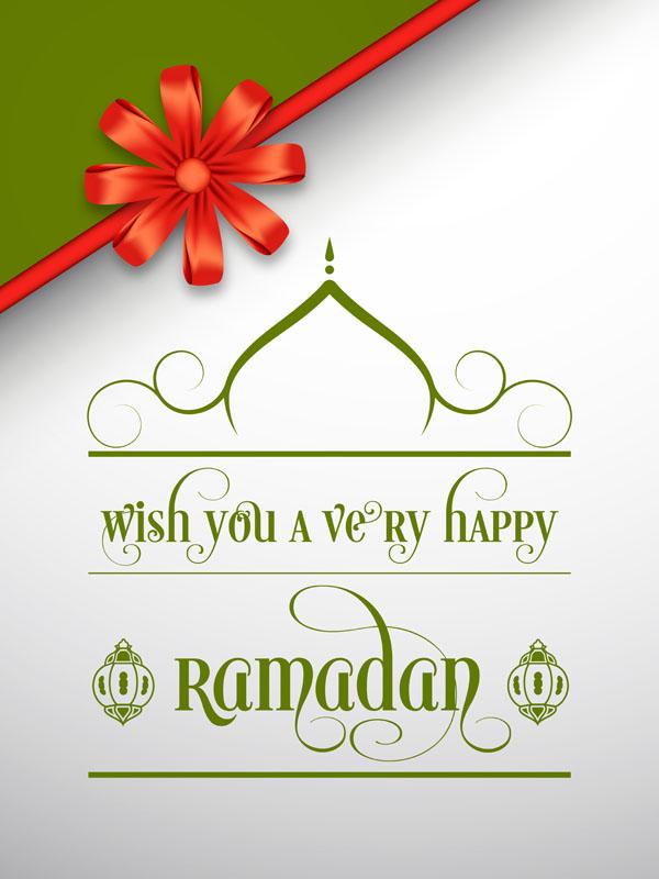 Ramadan Mubarak Greetings Cards