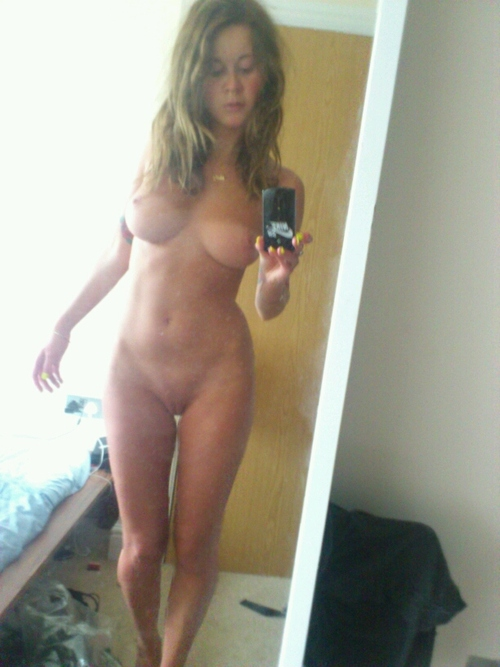 women Self shot nude