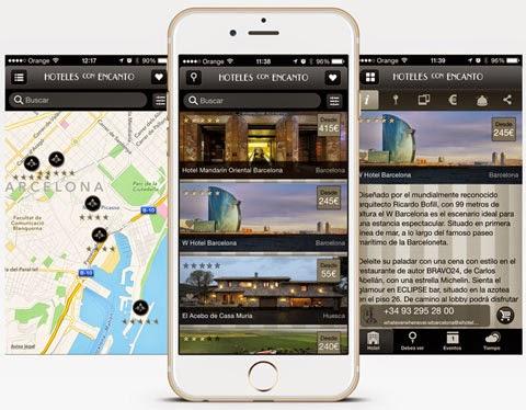 Consigue gratis la app Hoteles con Encanto