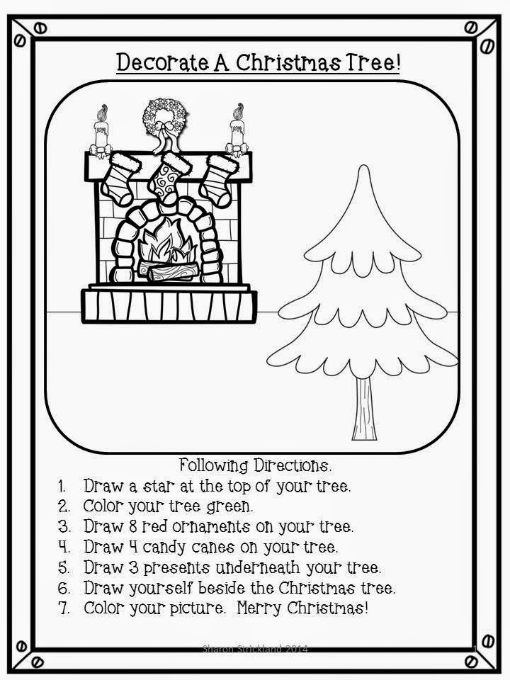 Super Second Grade Smarties: Free Christmas Activities- 12 Days of ...