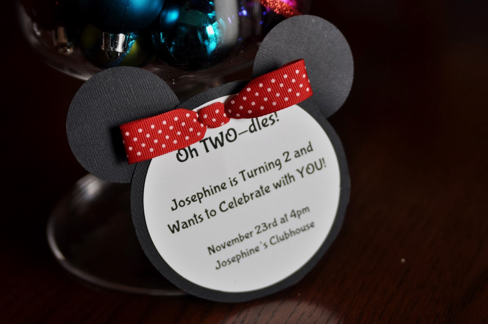 News from Alameda: Little J\'s Minnie Mouse Themed Birthday Party