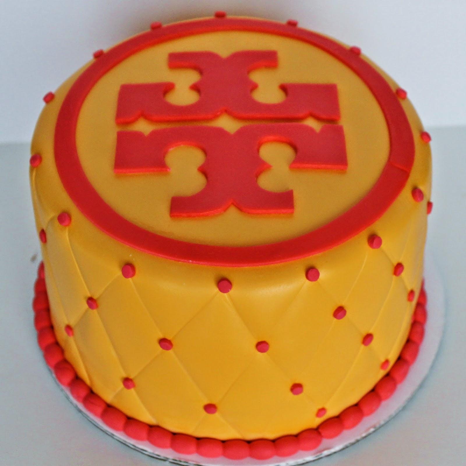 tory burch cake