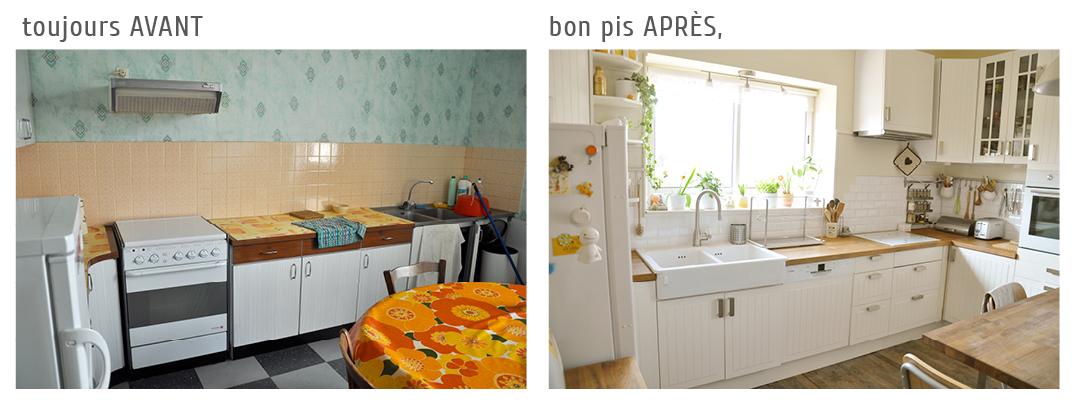 cuisine cuisine blanc casse et bois 1000 id es sur la d coration et cadeaux de maison et de. Black Bedroom Furniture Sets. Home Design Ideas