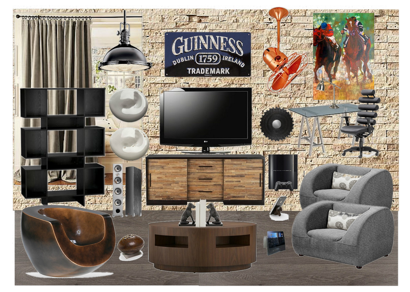 Very Small Man Cave Ideas : Master of your domain