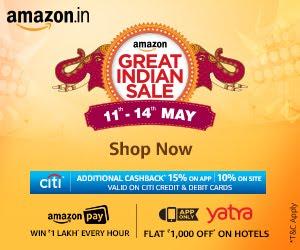 Amazon India Mega Sale