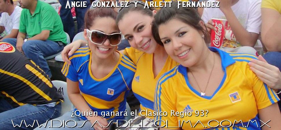 Angie Gonzalez y Arlett Fernandez