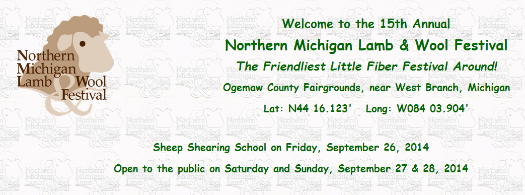 northern michigan lamb wool festival near west branch