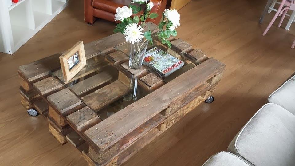 mesa con palets - Mesa Con Palets