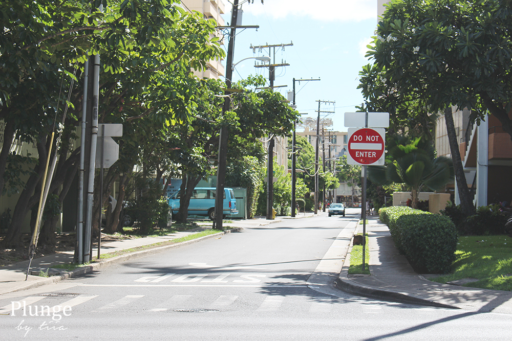 Waikiki neighbourhood