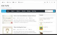 template blog paling seo loading cepat