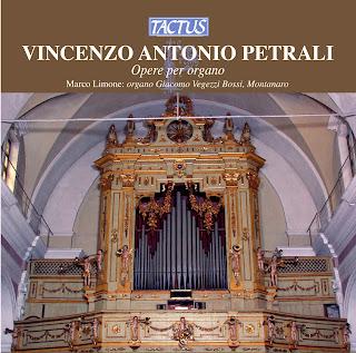 Petrali: Opere per organo