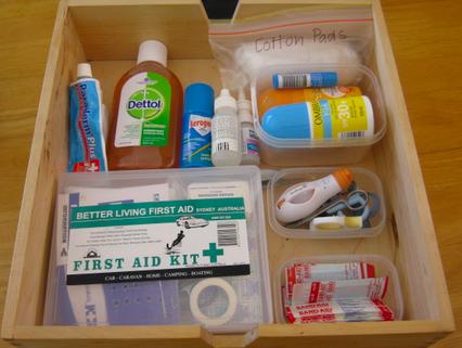 Аптечка для новорожденных своими руками