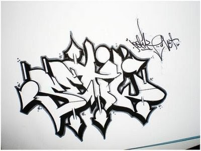 3-How To Draw Graffiti Letters