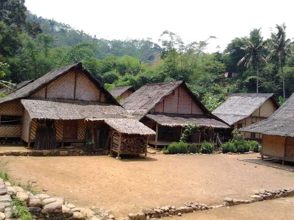Download this Rumah Adat Suku Baduy Dalam picture