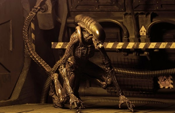 NECA - Aliens Series 3 - Alien 3 - Dog Alien figure
