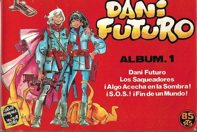 Dani Futuro (Hitpress) 3 tomos. Aporte de Roberto Herzberg