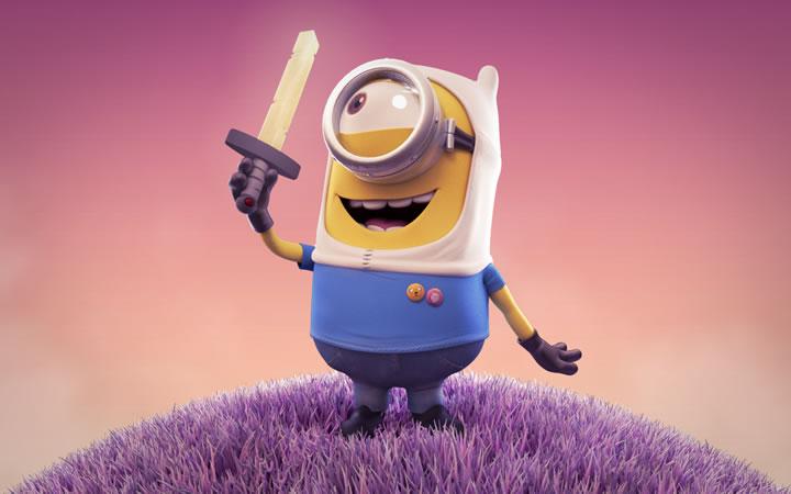 Minions animados: imágenes animadas de Minions. | Ideas y