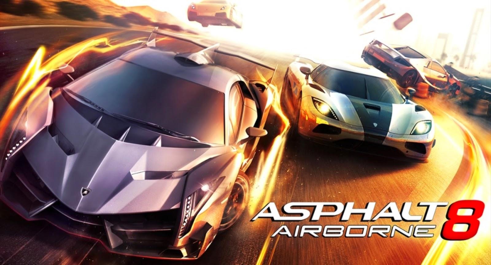 Asphalt 8 Airborne APK Data Android