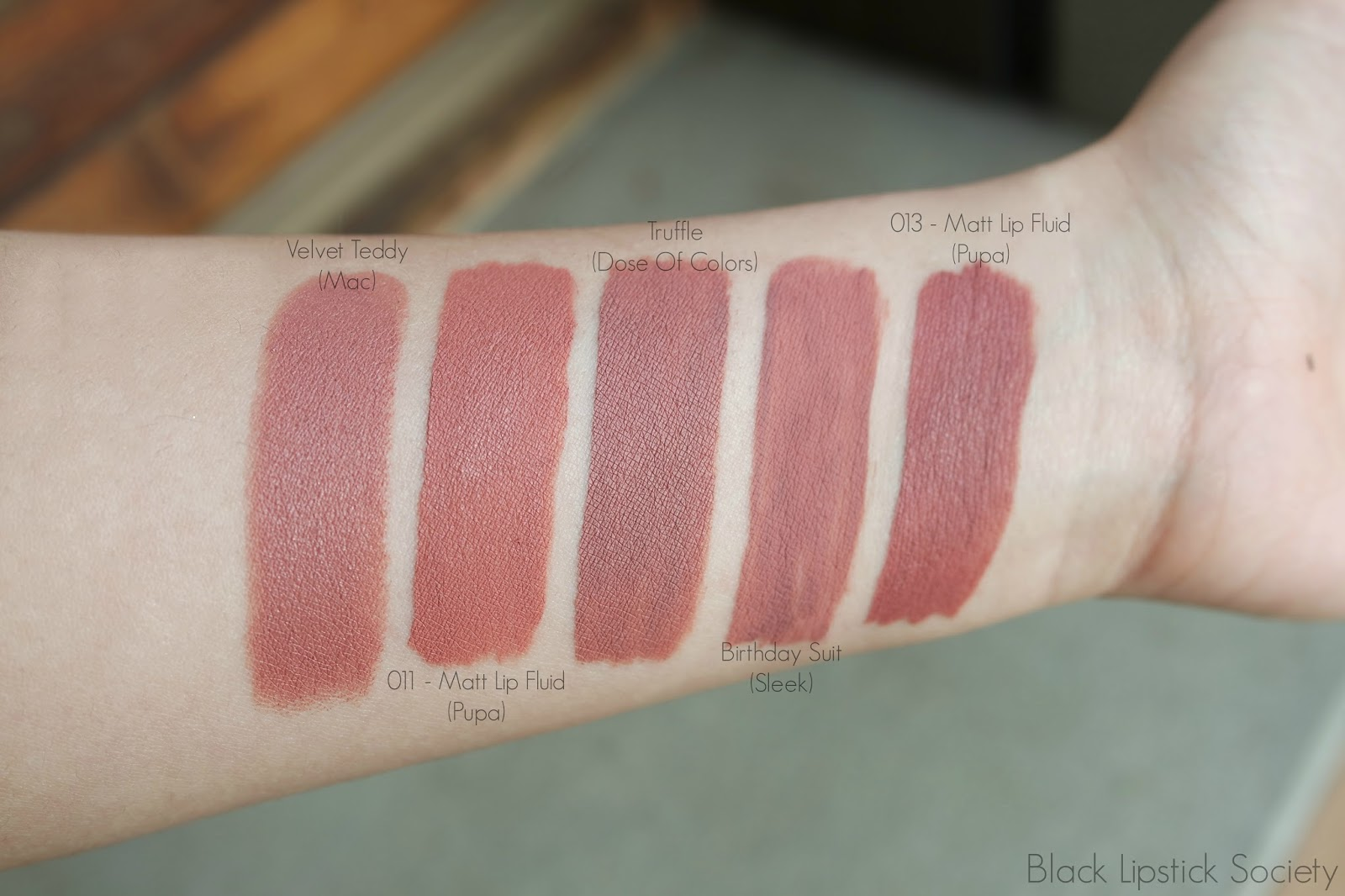 Popolare Black Lipstick Society: dicembre 2015 LZ32