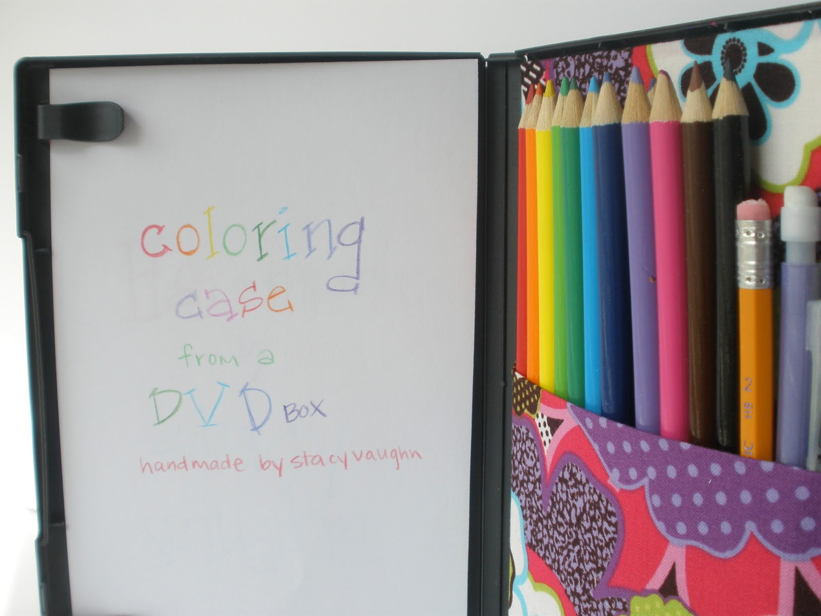 DIY craft hack: Turn DVD cases into kids\' travel coloring kits ...