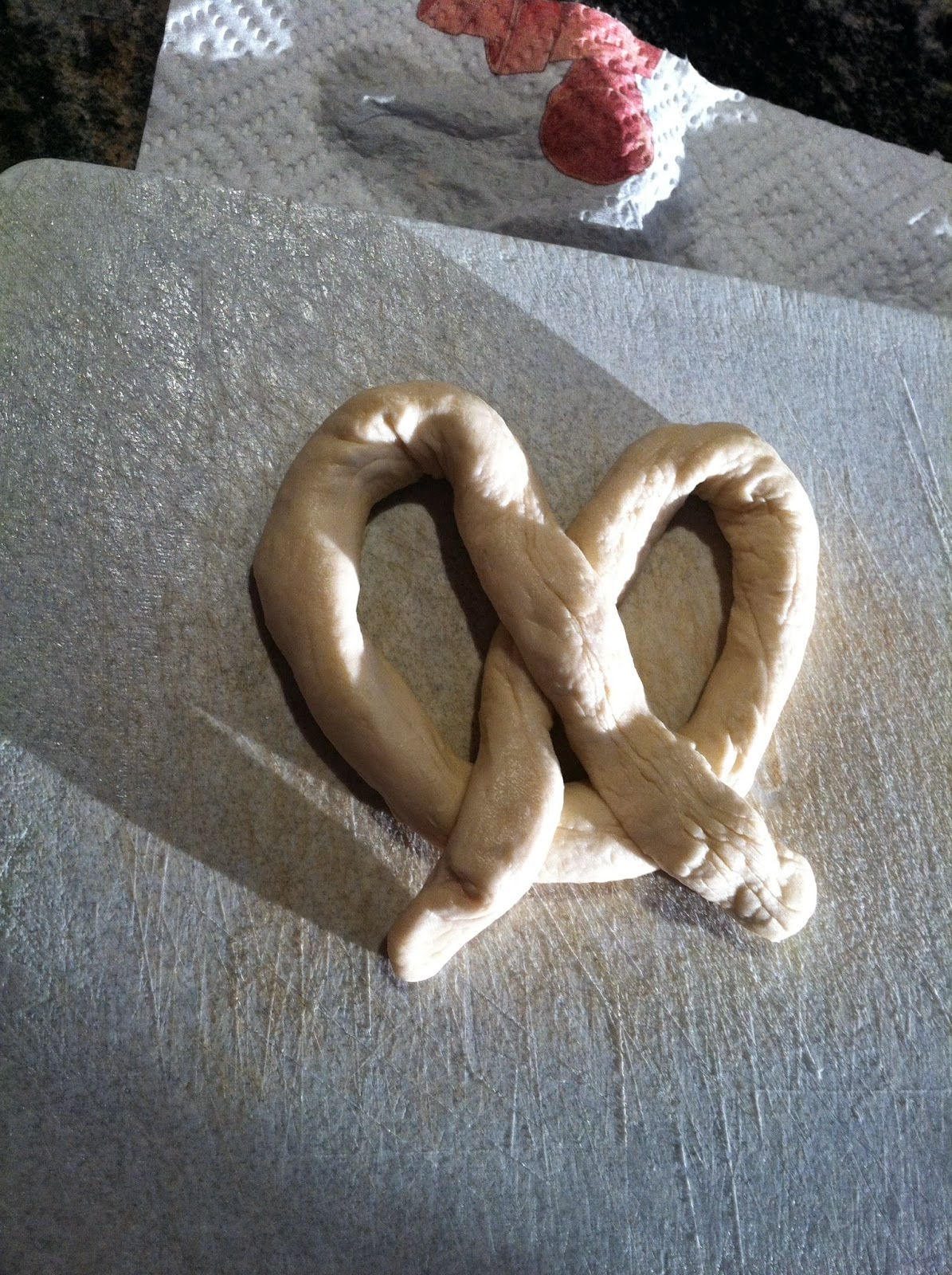 Pretzel Making