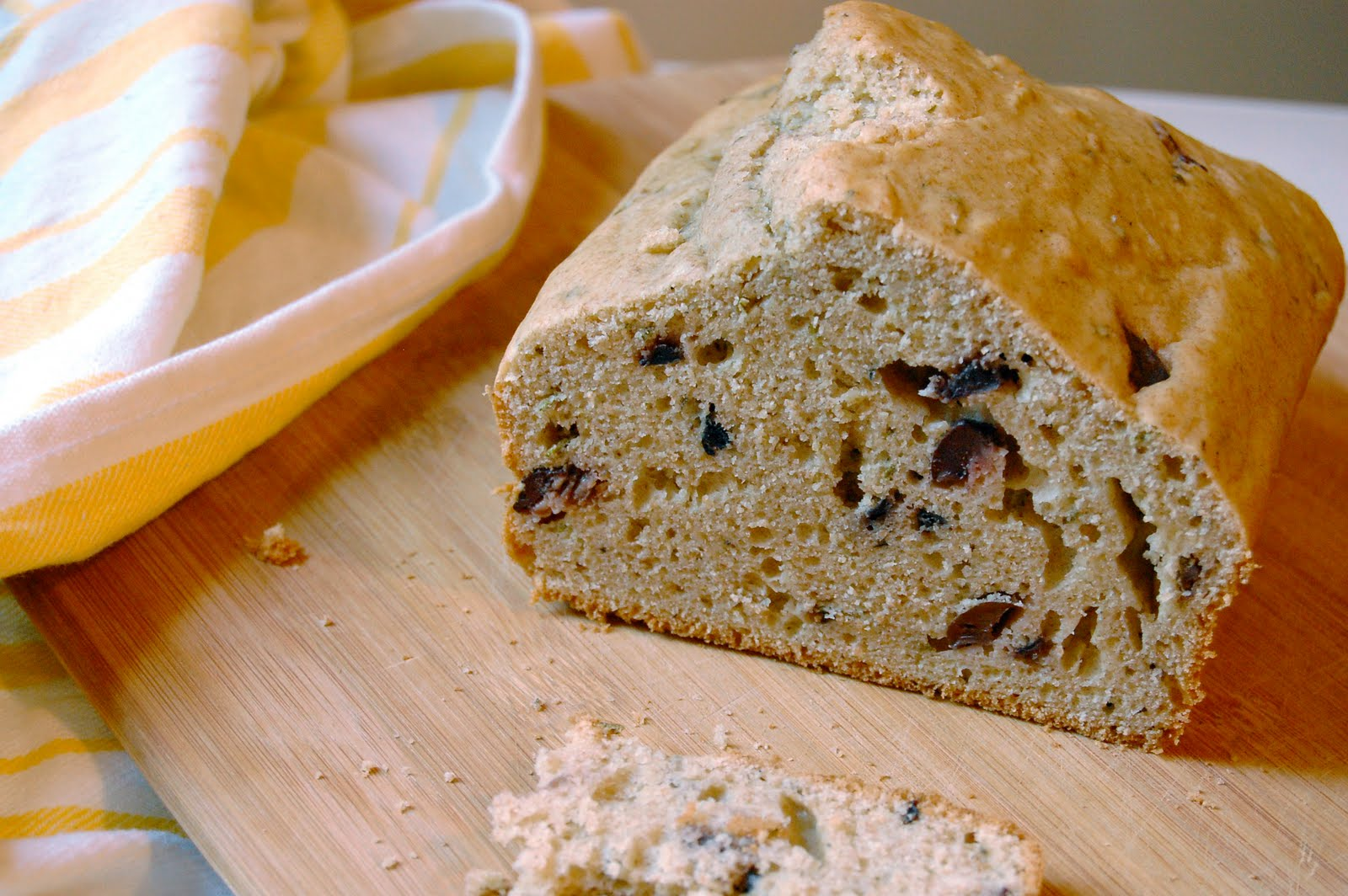 MEDITERRANEAN OLIVE BREAD -- I never anticipated making a bread ...