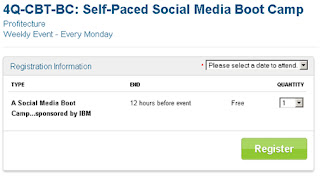 IBM Social Media Boot Camp register