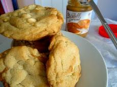 Biscoff White Chocolate Cookies