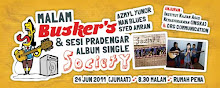 Malam Busker's & Sesi Pradengar Album Single SOCIETY
