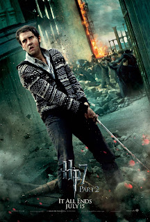 Harry Potter and the Deathly Hallows: Part 2 Character Movie Poster Set - Matthew Lewis as Neville Longbottom